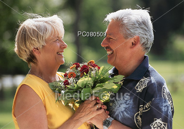 old affection mothersday Stock Photo