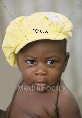 child african american Stock Photo