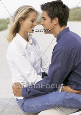 love Valentine's affection Stock Photo