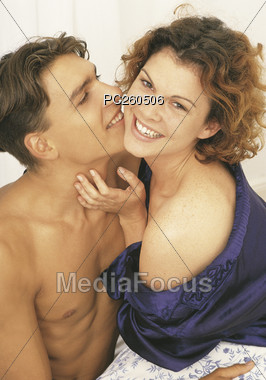 love Valentine's affection Stock Photo