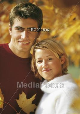 expression autumn happy Stock Photo