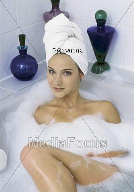 wellness bath beauty Stock Photo