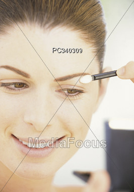 stick lip beauty Stock Photo