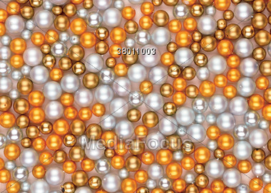 Pearl Background Stock Photo