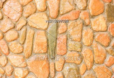 Pebble Stones Background Stock Photo