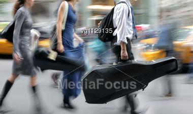 motion blur people