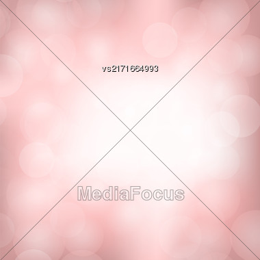 Pink Blurred Light Background. Abstract Flare Pattern Stock Photo