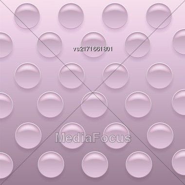Pink Bubblewrap Background. Pink Plastic Packing Tape Stock Photo