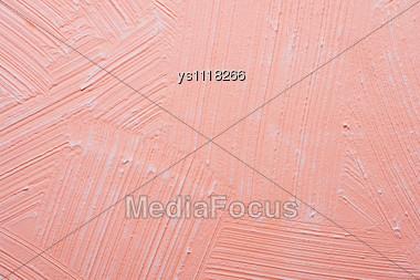 Pink Wall Take Photograph Close-up Stock Photo