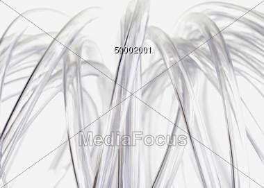 Plastic Tubes Background Stock Photo