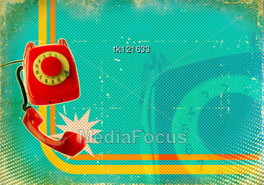 Fashioned Telephone on Poster Old Fashioned Telephone   Image Tk121633   Poster Old Fashioned