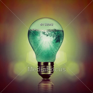 Power Inside, Abstract Environmental Backgrounds Stock Photo