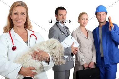 Professionals Stock Photo