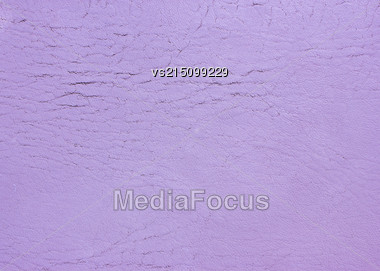Purple Old Leather Background. Old Leather Texture Stock Photo