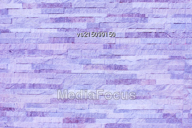 Purple Old Stone Background. Purple Wall Texture Stock Photo