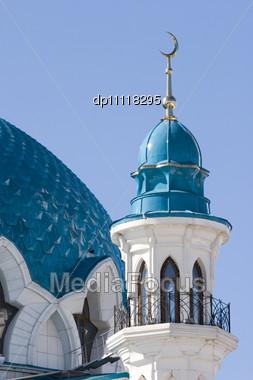 Qolsharif Mosque Kazan/Tatrstan Symbol Stock Photo