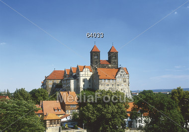 Quedlinburg, Germany Stock Photo