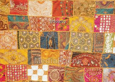 Quilt Stock Photo