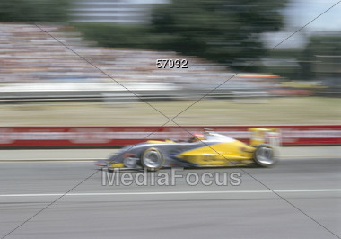 Race Car Stock Photo