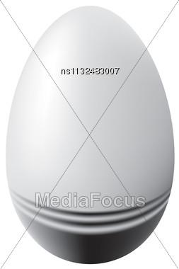 Raster. Easter Egg Stock Photo