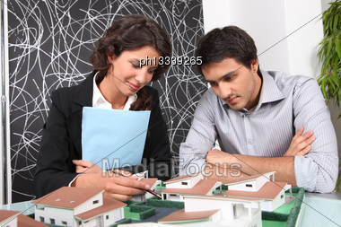 Real Estate Project Stock Photo