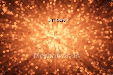 Red Abstract Light Background Stock Photo