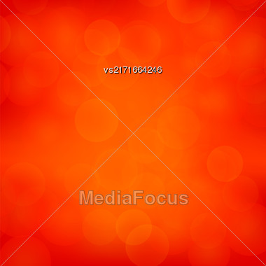 Red Blurred Light Background. Abstract Flare Pattern Stock Photo