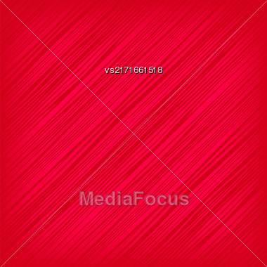 Red Diagonal Lines Background. Abstract Red Diagonal Pattern Stock Photo