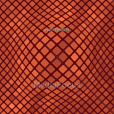 Red Diagonal Square Pattern. Abstract Red Square Background Stock Photo
