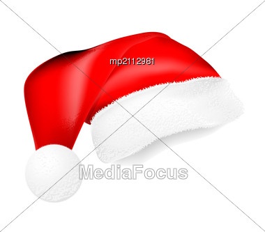 6b02d8080ae Stock Photo Red Santa Claus Hat Shadow Collage - Image MP2112981 ...