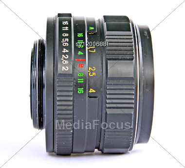 Retro Lens Stock Photo