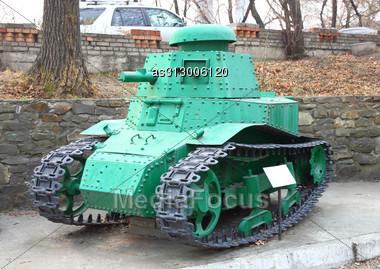 Retro Tanks Stock Photo