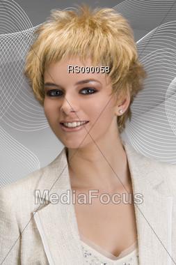 Hairstyle, Hairmodelphotography, Hairfashion, Hairstylefashion, Hairmodel, Haircare, Haircut, Hairstyling Stock Photo