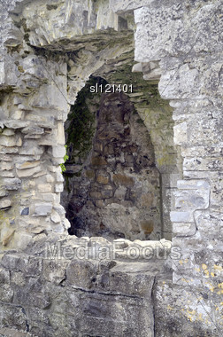 Ruin. Trim Priory Of St John The Baptist. Trim, Co. Meath, Ireland Stock Photo