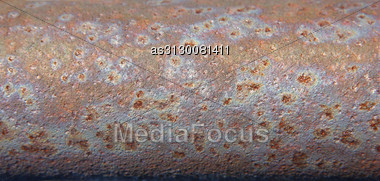 Rust On Metal Sheet For Background Stock Photo