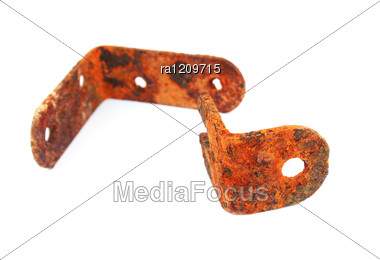 Rusty Tools Stock Photo