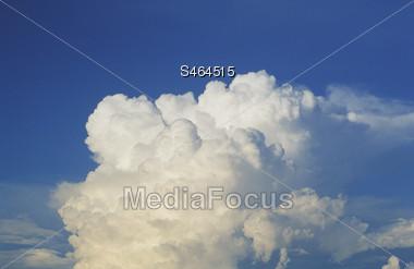 clouds moon eclips rainbow skies Stock Photo