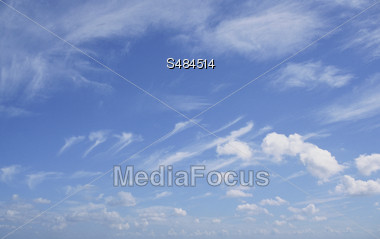clouds moon eclips rainbow skies Stock Photo