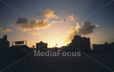 dawn sunsets sunrise Stock Photo