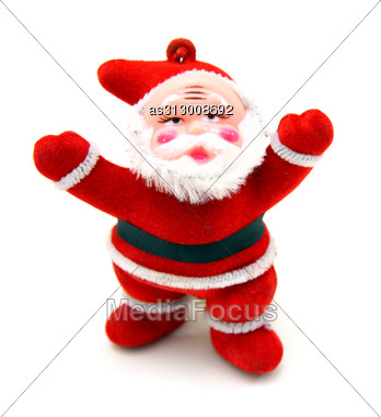 Santa Claus Doll Stock Photo