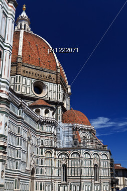 Santa Maria Del Fiore. Duome In Florence. Italy. Europe. Stock Photo