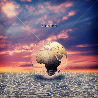 Save The Earth. Abstract Environmental Backgrounds For Your Design Stock Photo