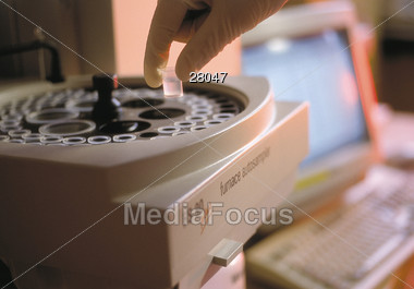 Science Technology - Medical Testing Stock Photo