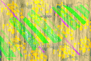 Seamless Colorful Texture Wallpaper Background. Stock Photo
