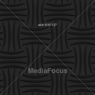 Seamless Geometric Background. Pattern With 3D Texture And Realistic Shadow.Textured Black Plastic Four Stripes Pin Will Stock Photo