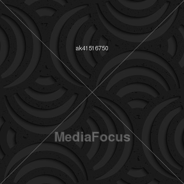 Seamless Geometric Background. Pattern With 3D Texture And Realistic Shadow.Textured Black Plastic Striped Pin Will Stock Photo