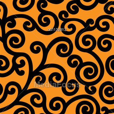 HD Curls on Orange
