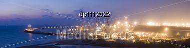 Seaport, Ashdod City, Israel Stock Photo