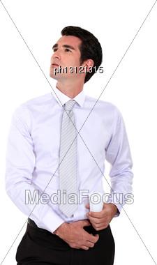 Self-assured Businessman Stock Photo