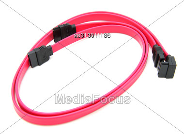 Serial-ATA Cable. Stock Photo